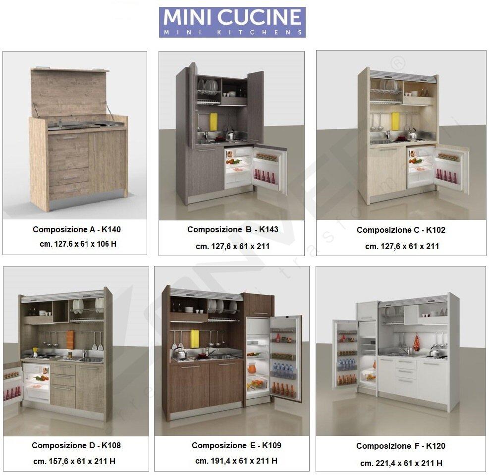 Mini cucine a scomparsa a Torino